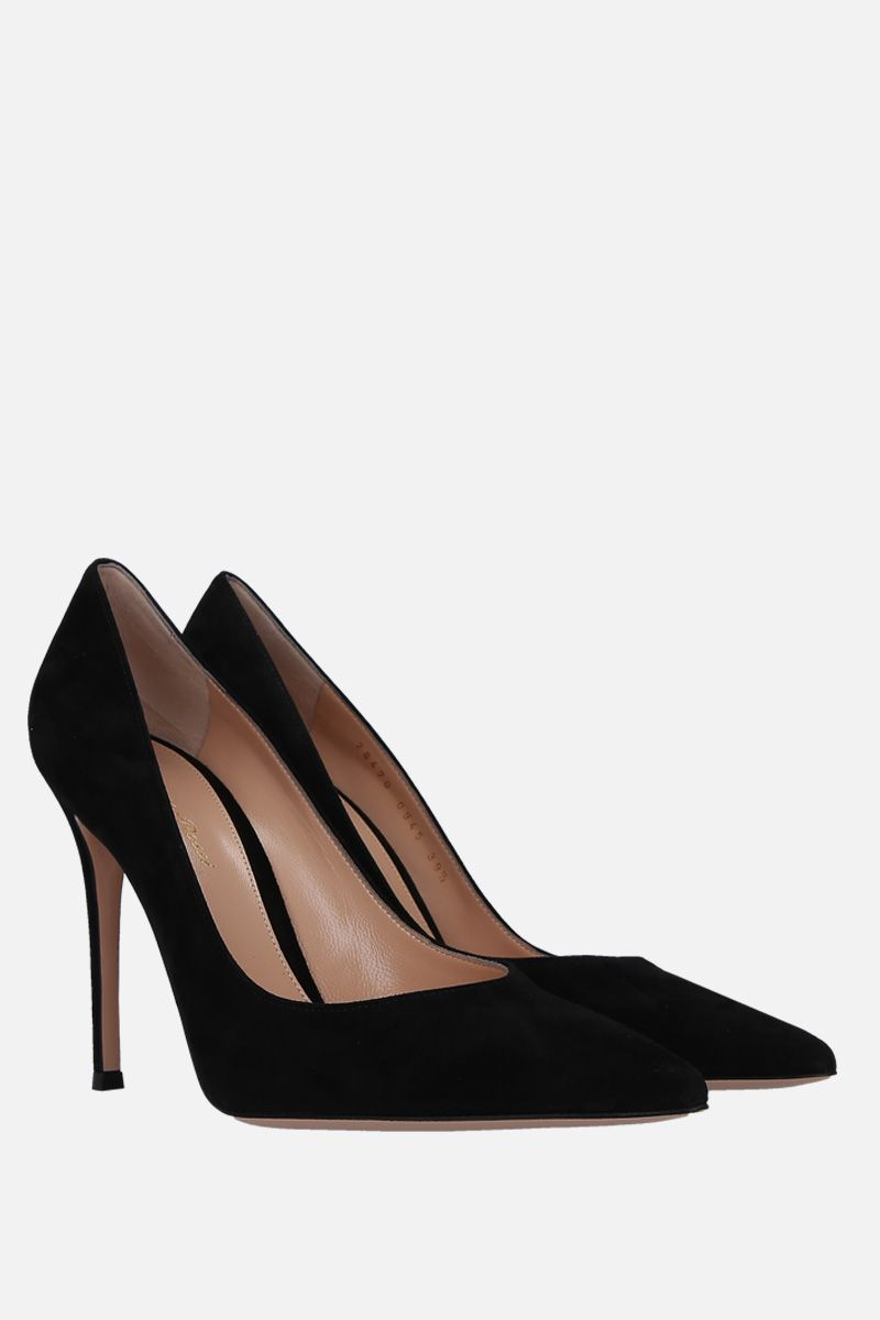 GIANVITO ROSSI: Gianvito suede pumps Color Black_2