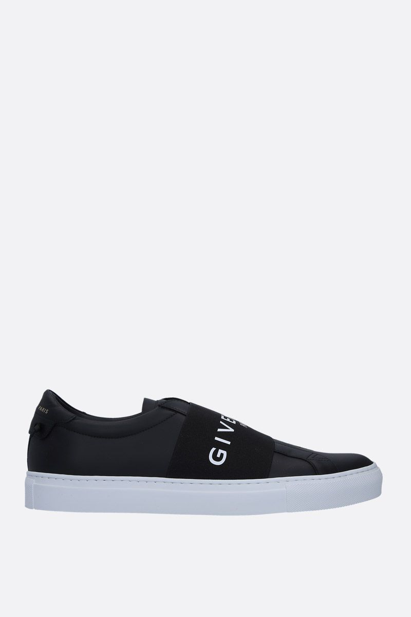 GIVENCHY: Urban Street smooth leather sneakers Color Black_1