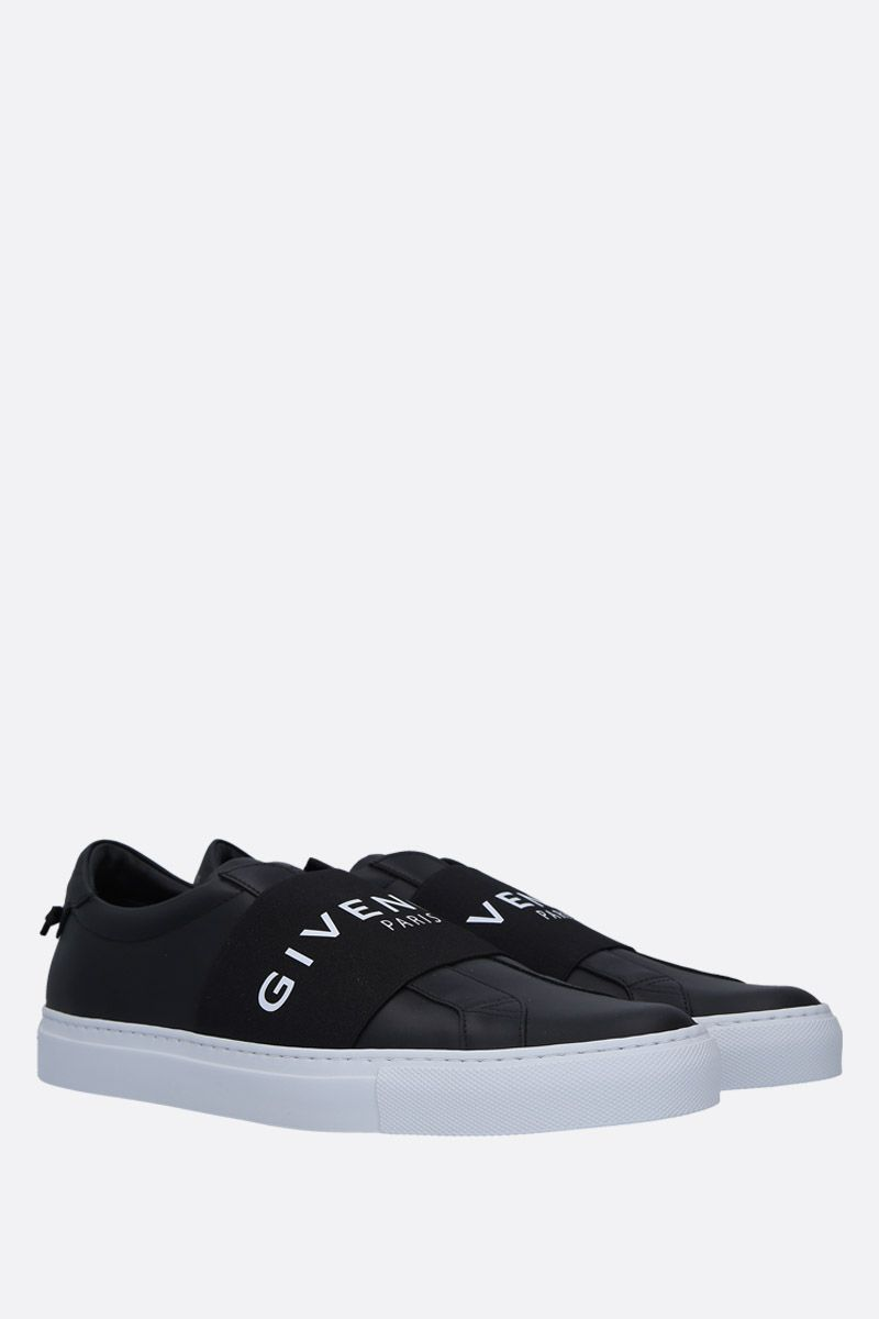 GIVENCHY: Urban Street smooth leather sneakers Color Black_2