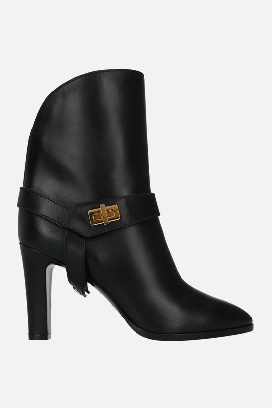 GIVENCHY: Eden smooth leather ankle boots Color Black_1