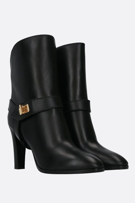 GIVENCHY: Eden smooth leather ankle boots Color Black_2