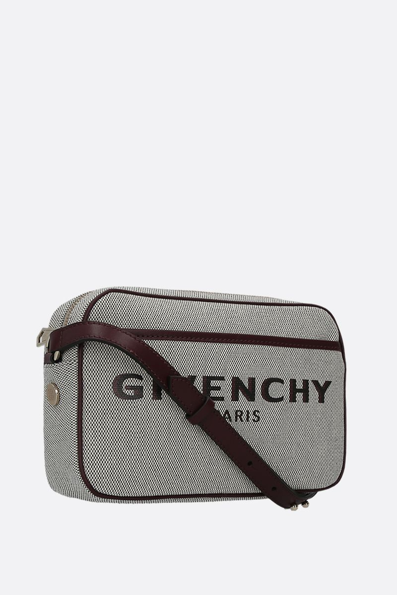 GIVENCHY: Givenchy Bond canvas shoulder bag_2