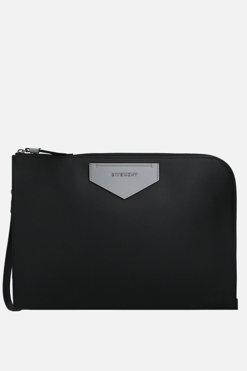 GIVENCHY: Antigona Soft smooth leather crossbody bag Color Black_2