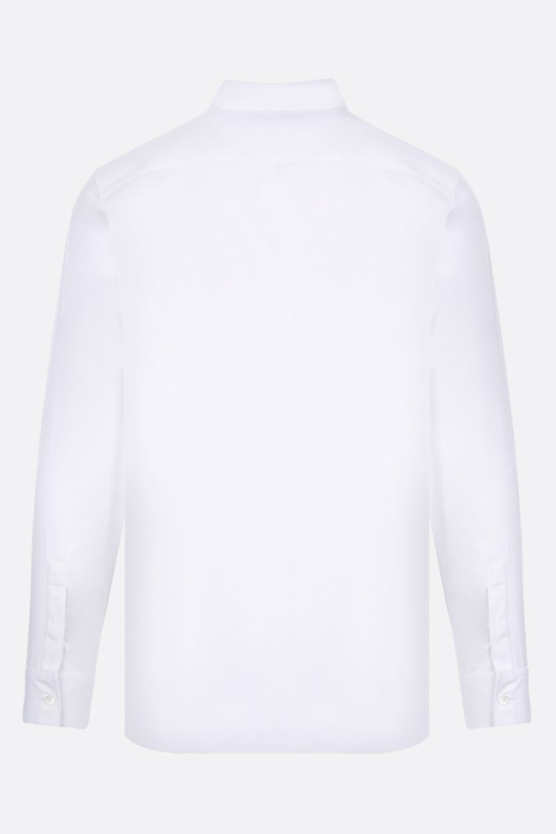 GIVENCHY: Givenchy Adresse cotton shirt Color White_2