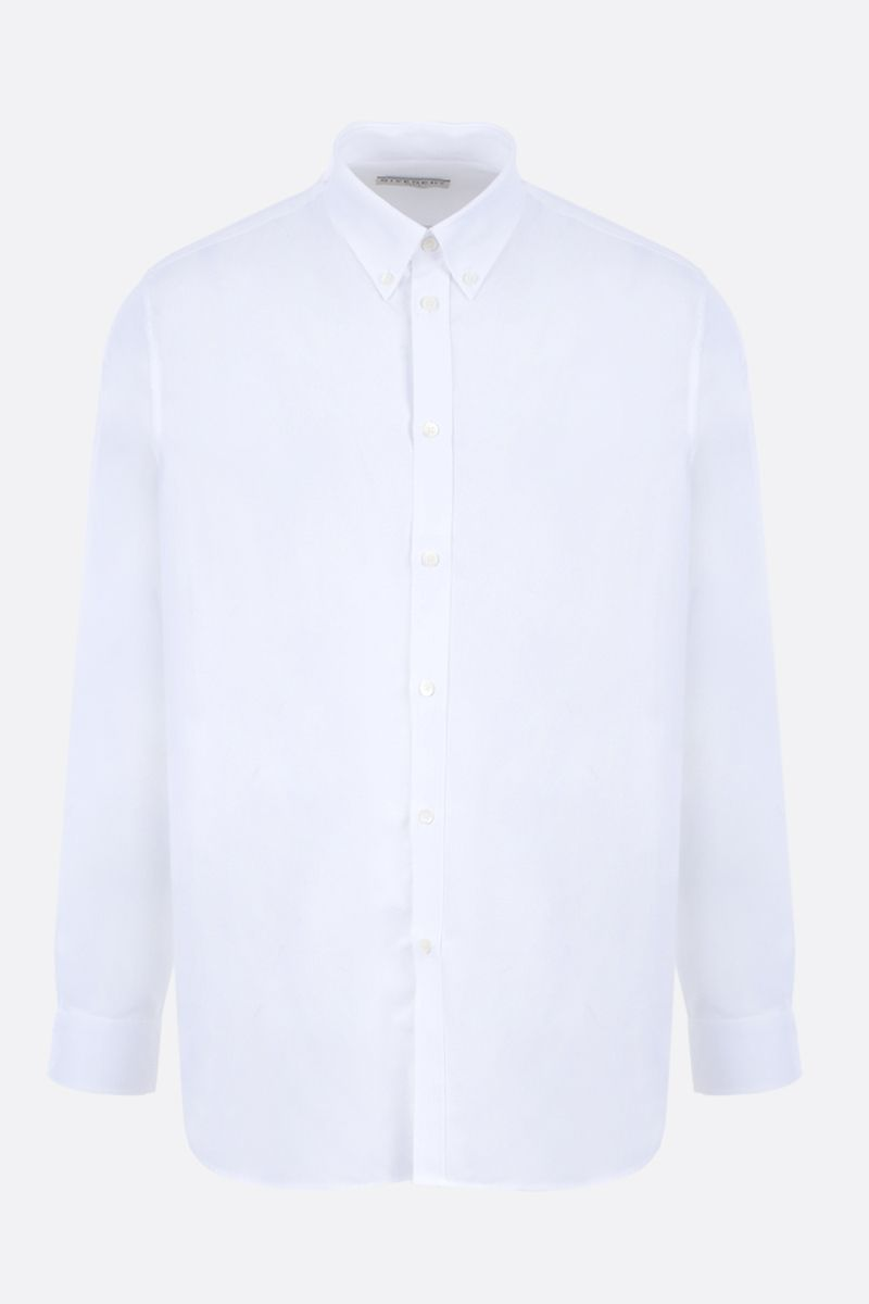GIVENCHY: Givenchy print cotton shirt Color White_1