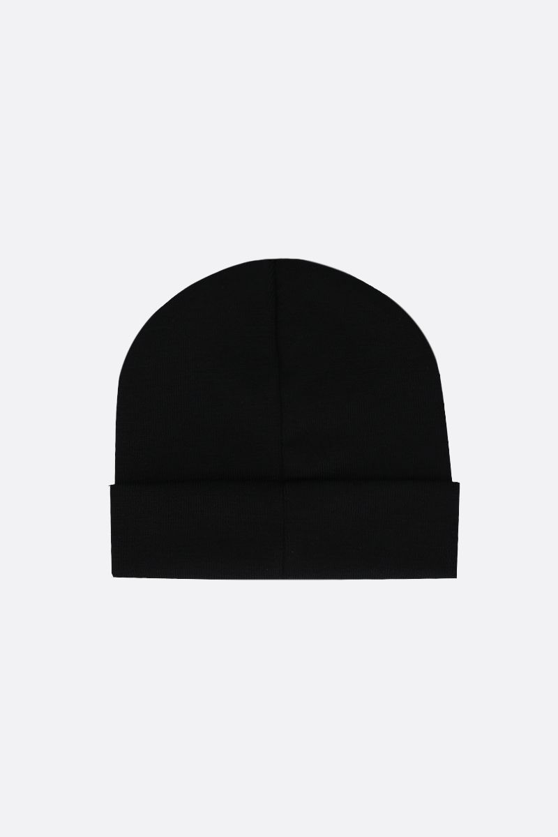 GIVENCHY: Givenchy wool knit beanie_2