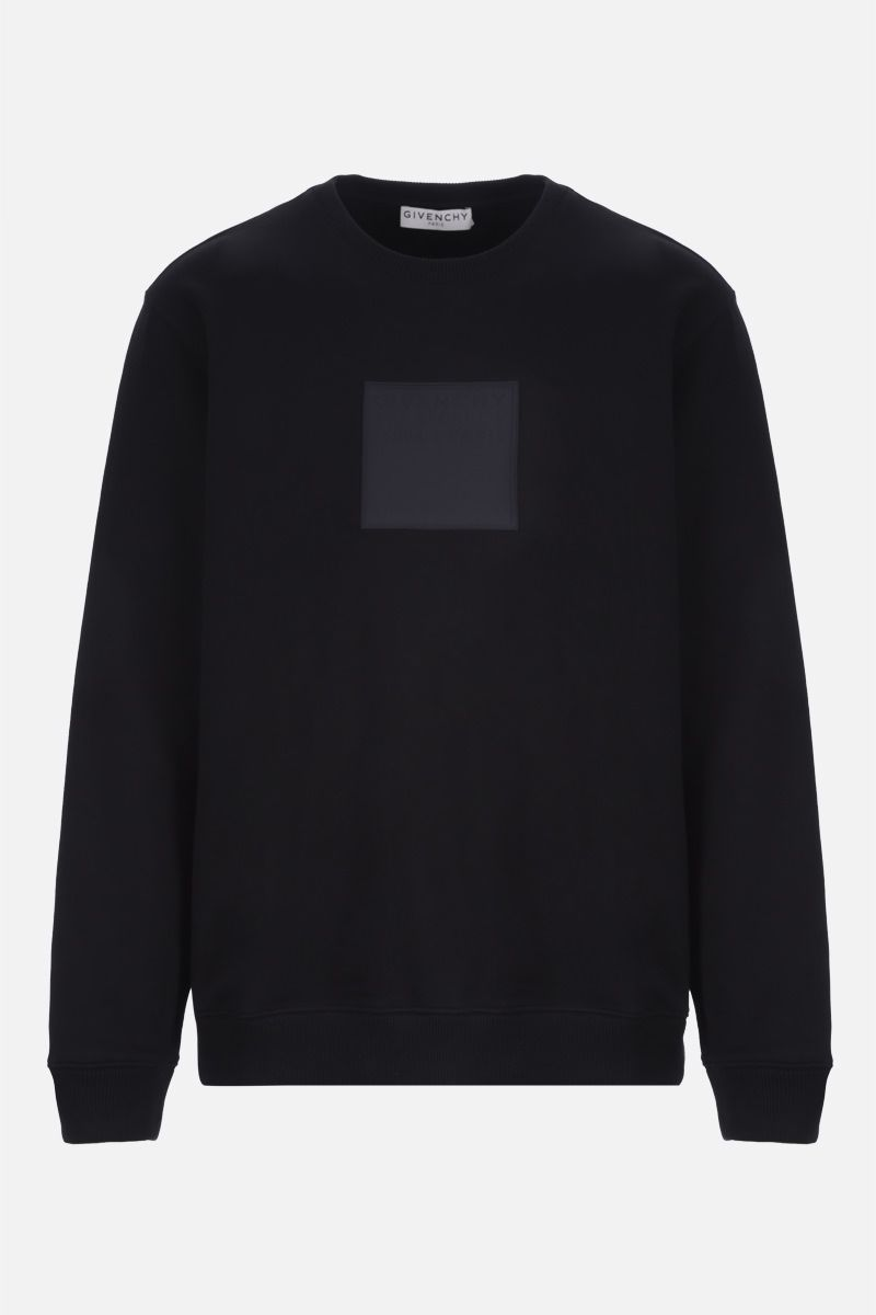 GIVENCHY: Adresse Givenchy cotton sweatshirt Color Black_1