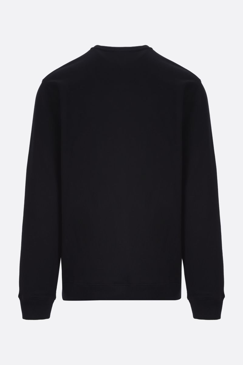 GIVENCHY: Adresse Givenchy cotton sweatshirt Color Black_2