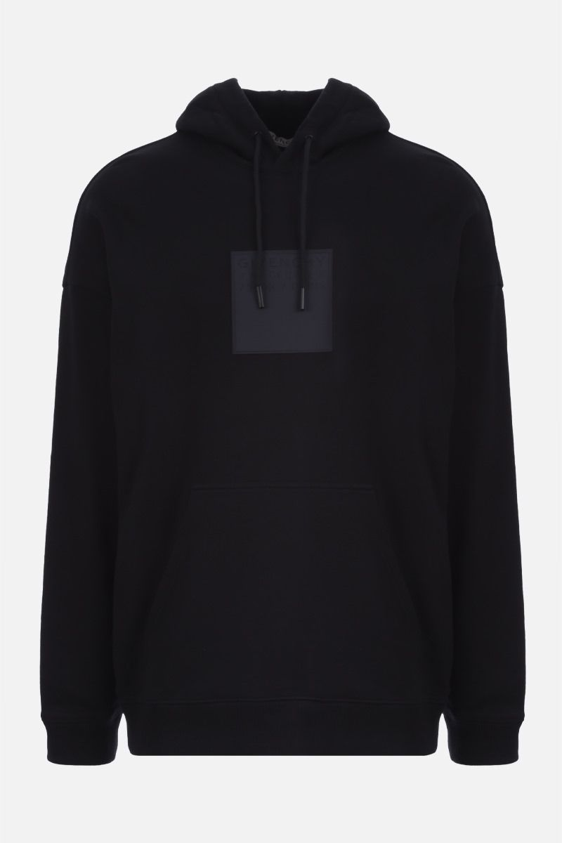 GIVENCHY: Adresse Givenchy cotton hoodie Color Black_1