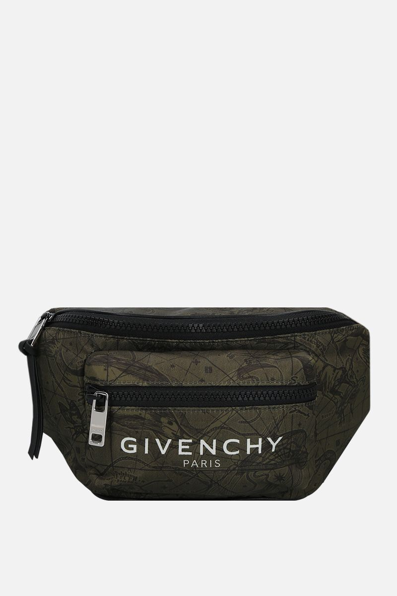 GIVENCHY: marsupio Light 3 in nylon Colore Verde_1