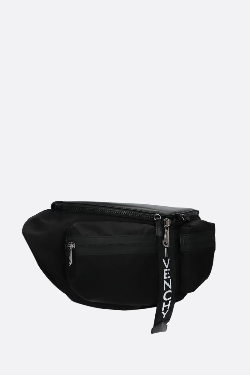 GIVENCHY: Spectre nylon belt bag Color Black_2