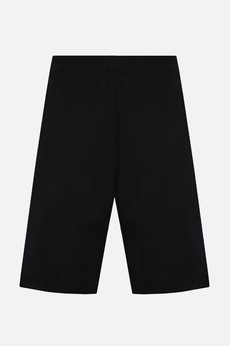 GIVENCHY: Givenchy Paris embroidered cotton shorts Color Multicolor_2