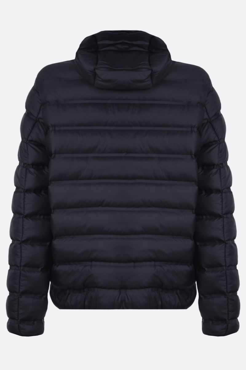 GIVENCHY: Givenchy band nylon padded jacket Color Black_2