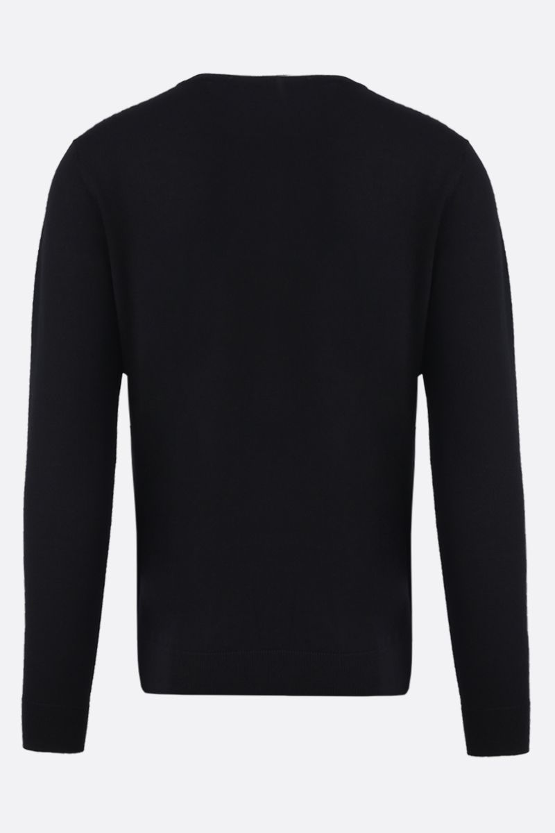 GIVENCHY: pullover in lana intarsio Givenchy Paris Colore Multicolore_2