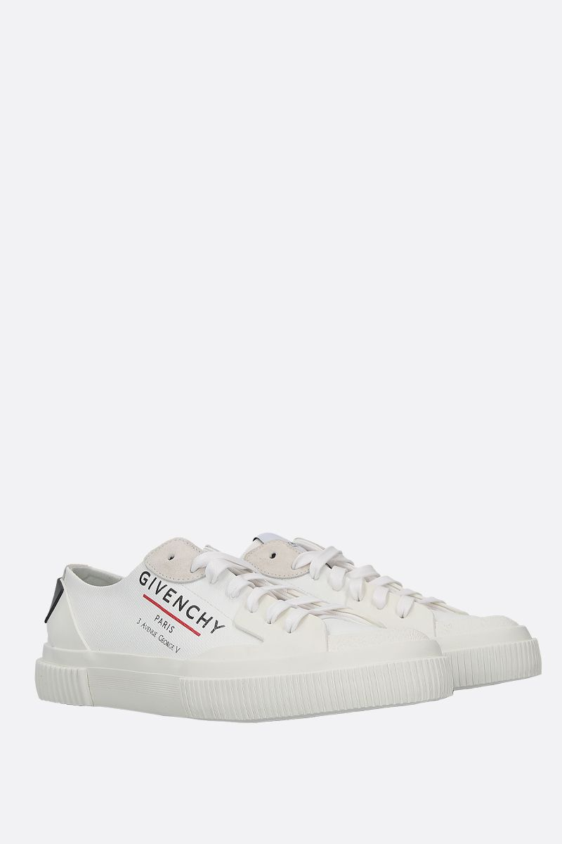GIVENCHY: sneaker Tennis Light in canvas Colore Bianco_2