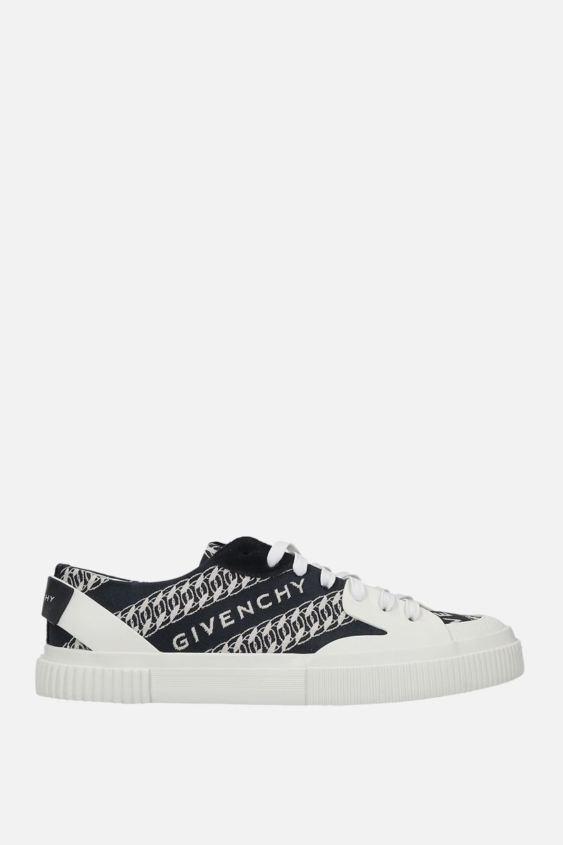 GIVENCHY: Tennis Light canvas sneakers Color Multicolor_1