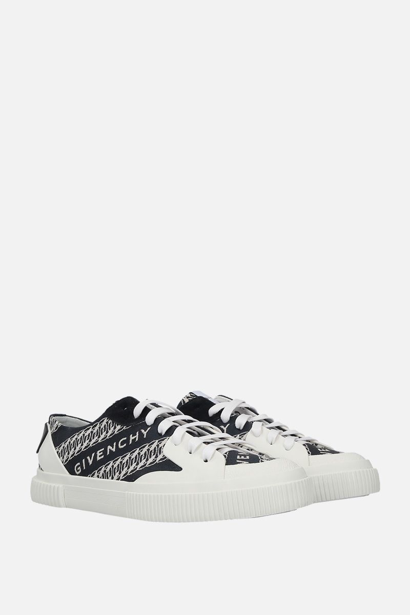 GIVENCHY: Tennis Light canvas sneakers Color Multicolor_2