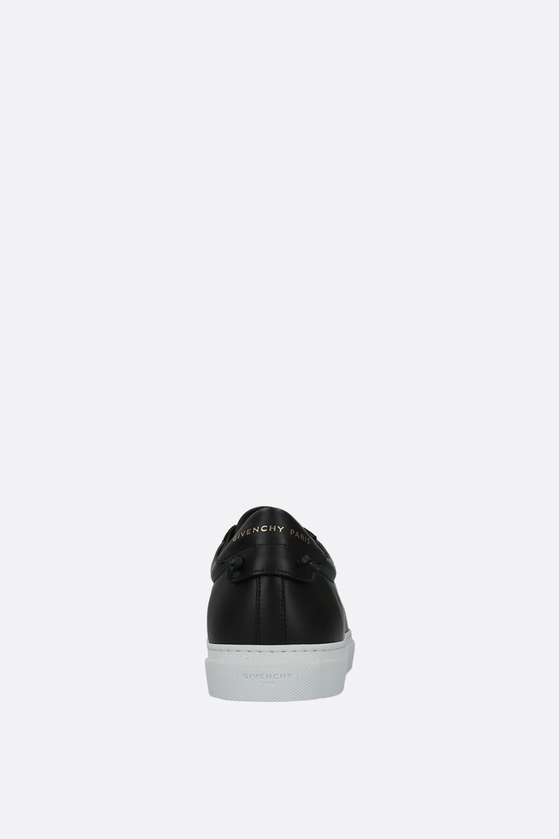 GIVENCHY: sneaker Urban street in pelle liscia Color Black_3