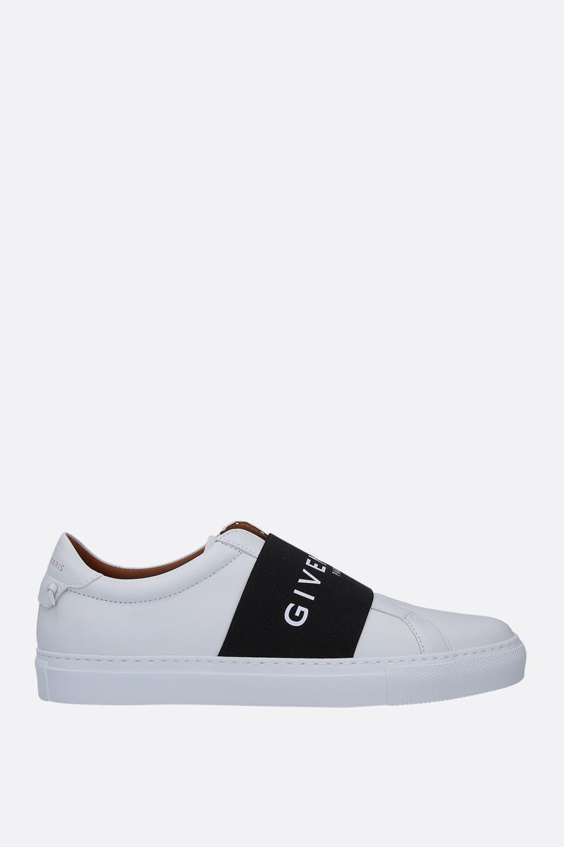 GIVENCHY: Urban Street smooth leather sneakers Color White_1