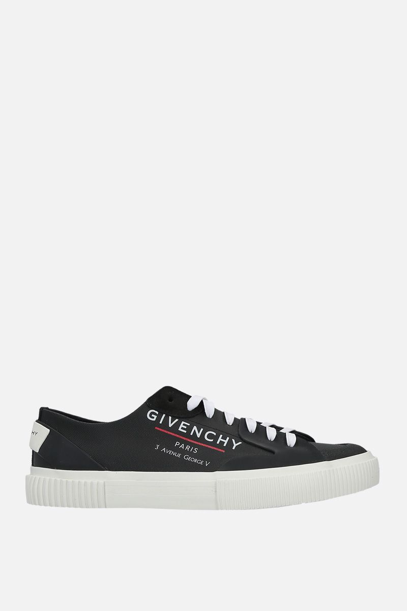 GIVENCHY: Tennis Light canvas sneakers Color Black_1