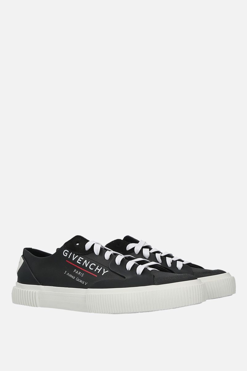 GIVENCHY: Tennis Light canvas sneakers Color Black_2