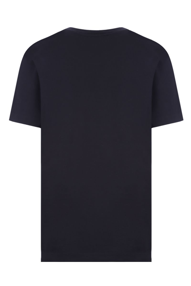 GIVENCHY: t-shirt Givenchy Paris Vintage in cotone Colore Nero_2