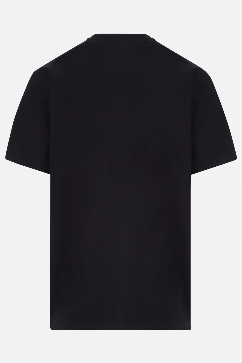 GIVENCHY: t-shirt in cotone stampa Givenchy Glitch Colore Multicolore_2