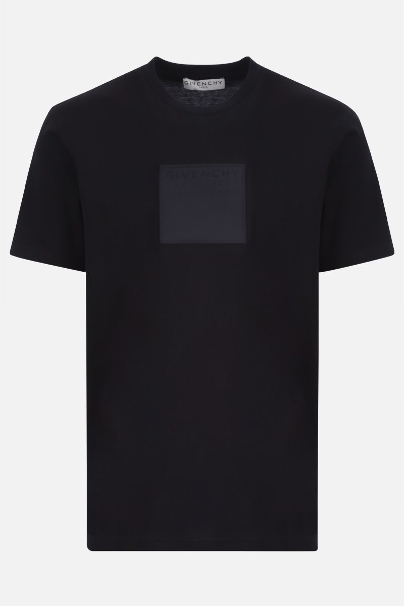 GIVENCHY: Adresse Givenchy cotton t-shirt Color Black_1