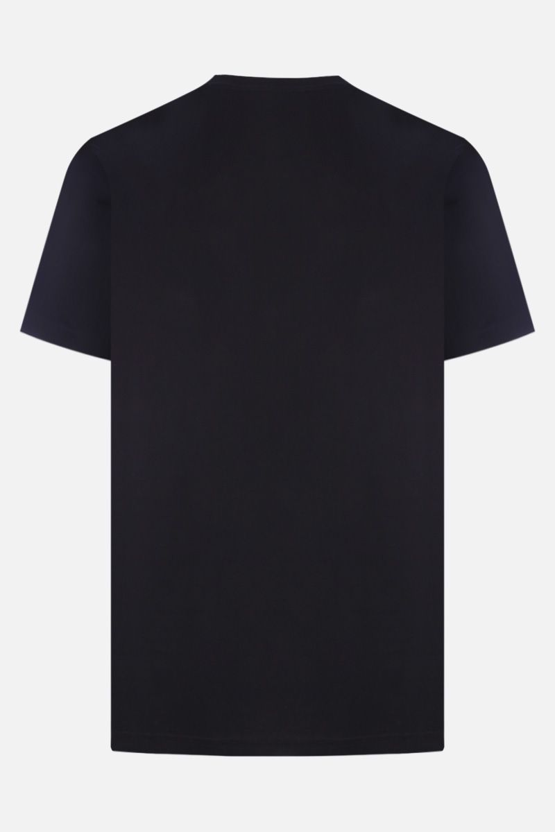 GIVENCHY: Givenchy 3D cotton t-shirt Color Black_2