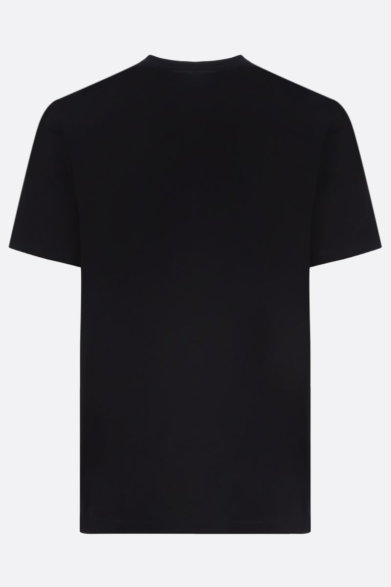 GIVENCHY: t-shirt in cotone stampa Givenchy Paris Colore Nero_2