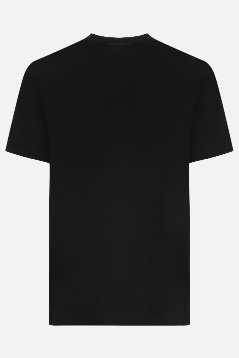 GIVENCHY: Givenchy print cotton t-shirt Colore Nero_2