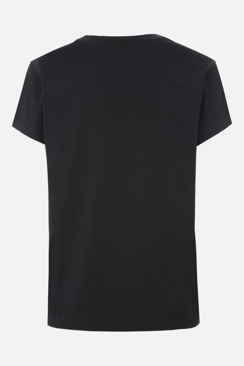 GIVENCHY: Givenchy embroidered cotton t-shirt Color Multicolor_2