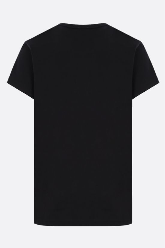 GIVENCHY: Studio Femme cotton t-shirt Color Black_2