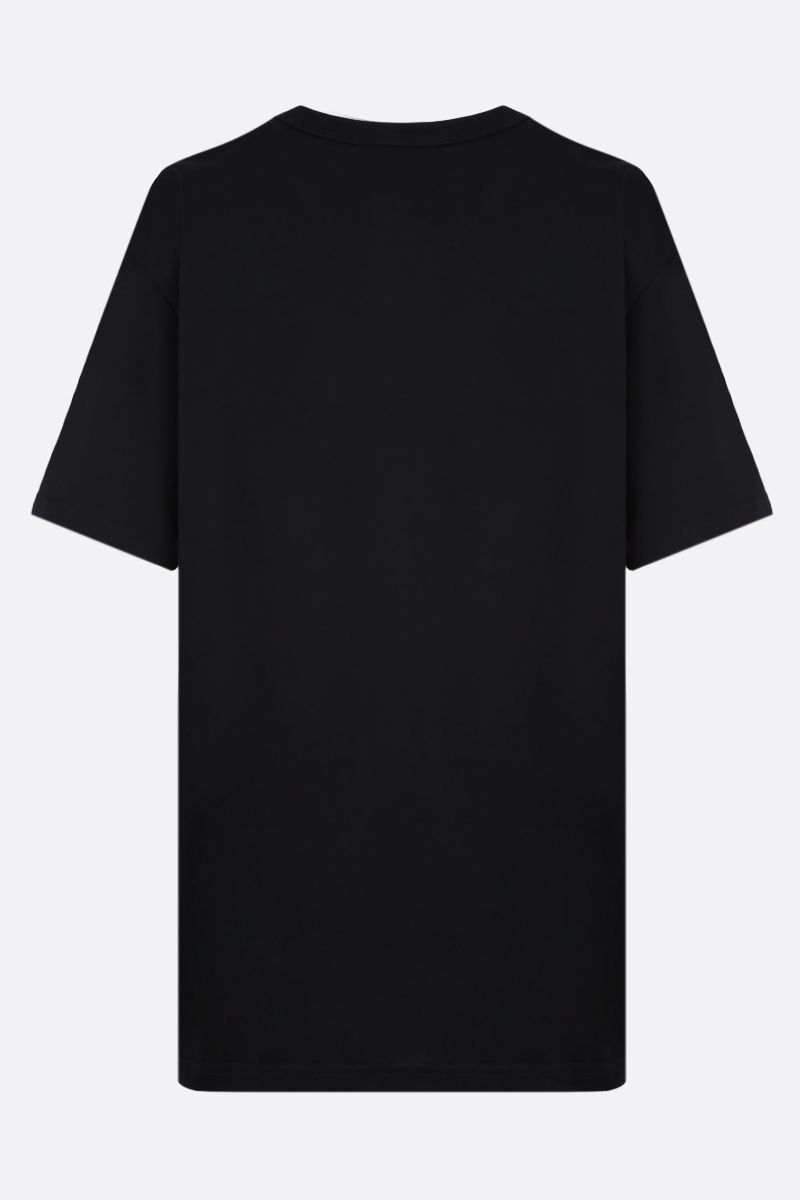 GIVENCHY: Givenchy Paris embroidered cotton t-shirt Color Black_2