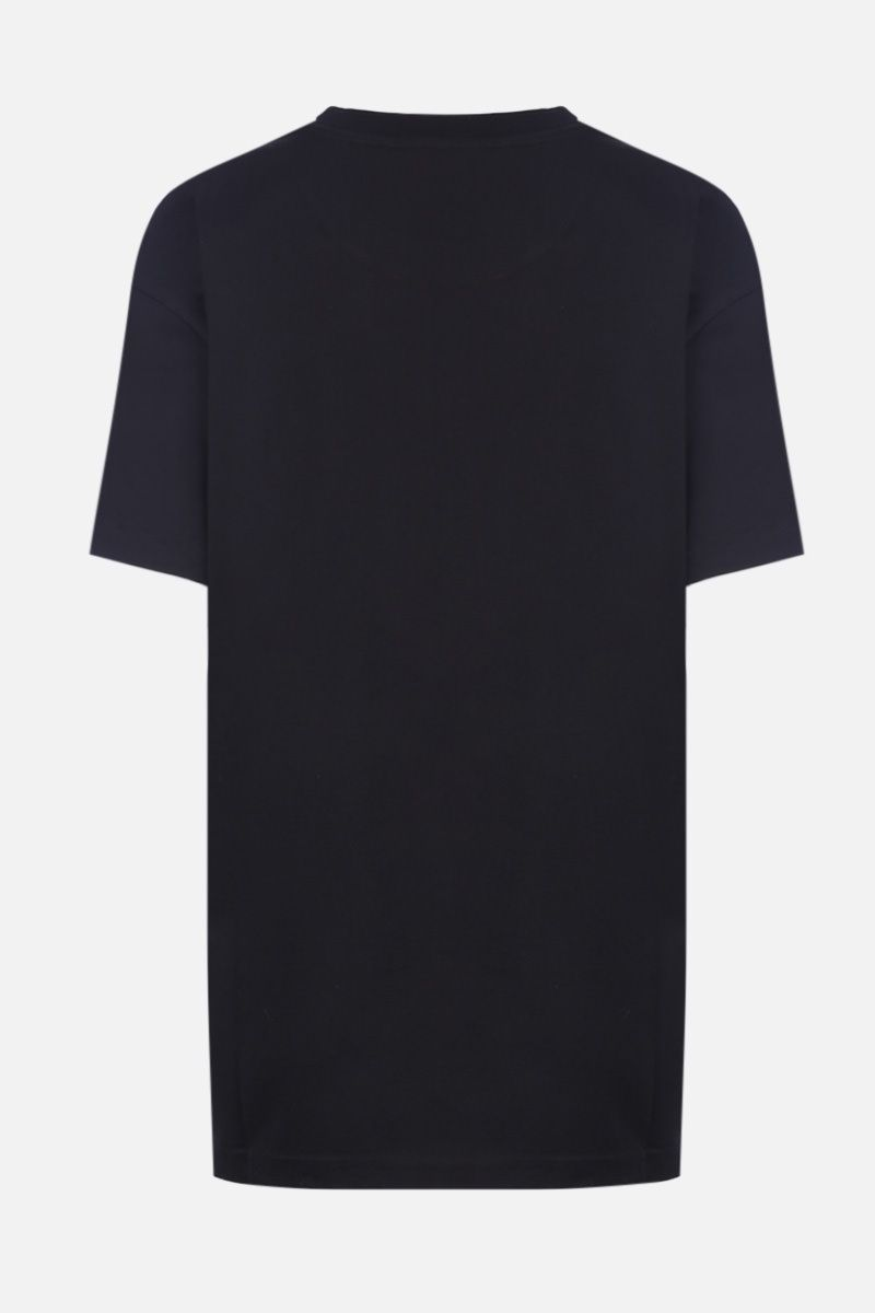 GIVENCHY: t-shirt oversize Givenchy Paris in cotone Colore Nero_2