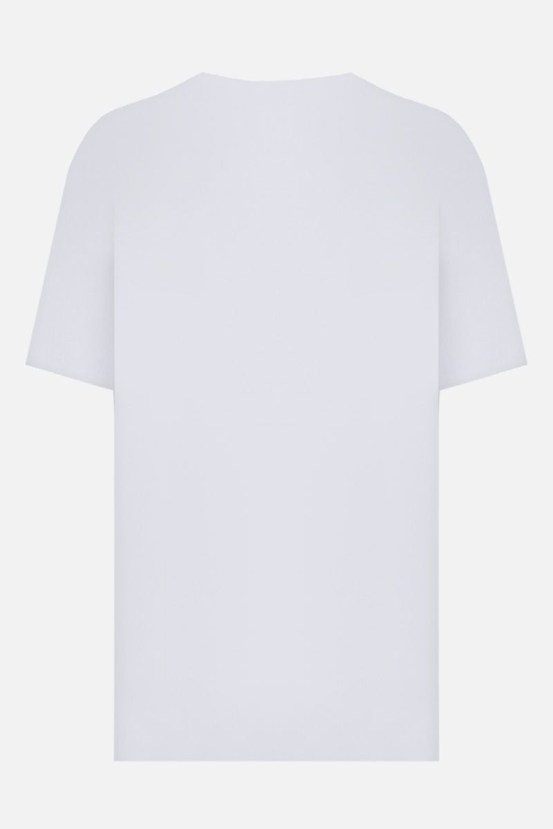 GIVENCHY: Givenchy Paris cotton oversize t-shirt Color White_2