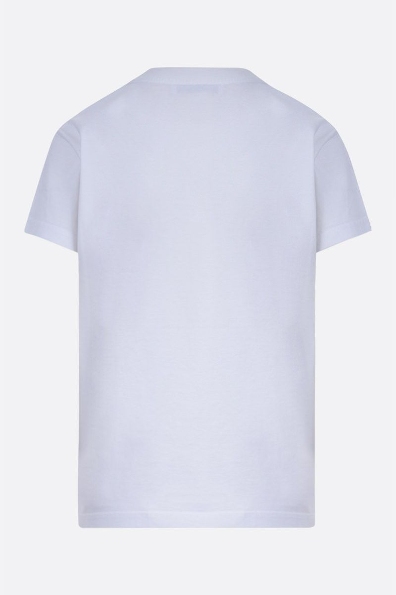 GIVENCHY: Givenchy Paris cotton t-shirt Color White_2