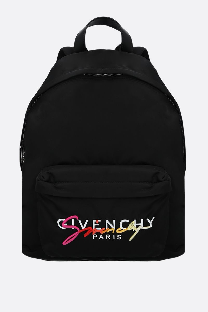 GIVENCHY: Urban nylon backpack Color Multicolor_1