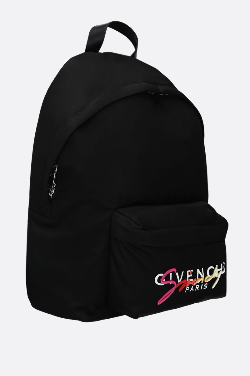 GIVENCHY: Urban nylon backpack Color Multicolor_2
