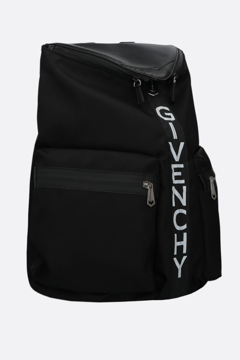 GIVENCHY: Spectre nylon backpack Color Black_2