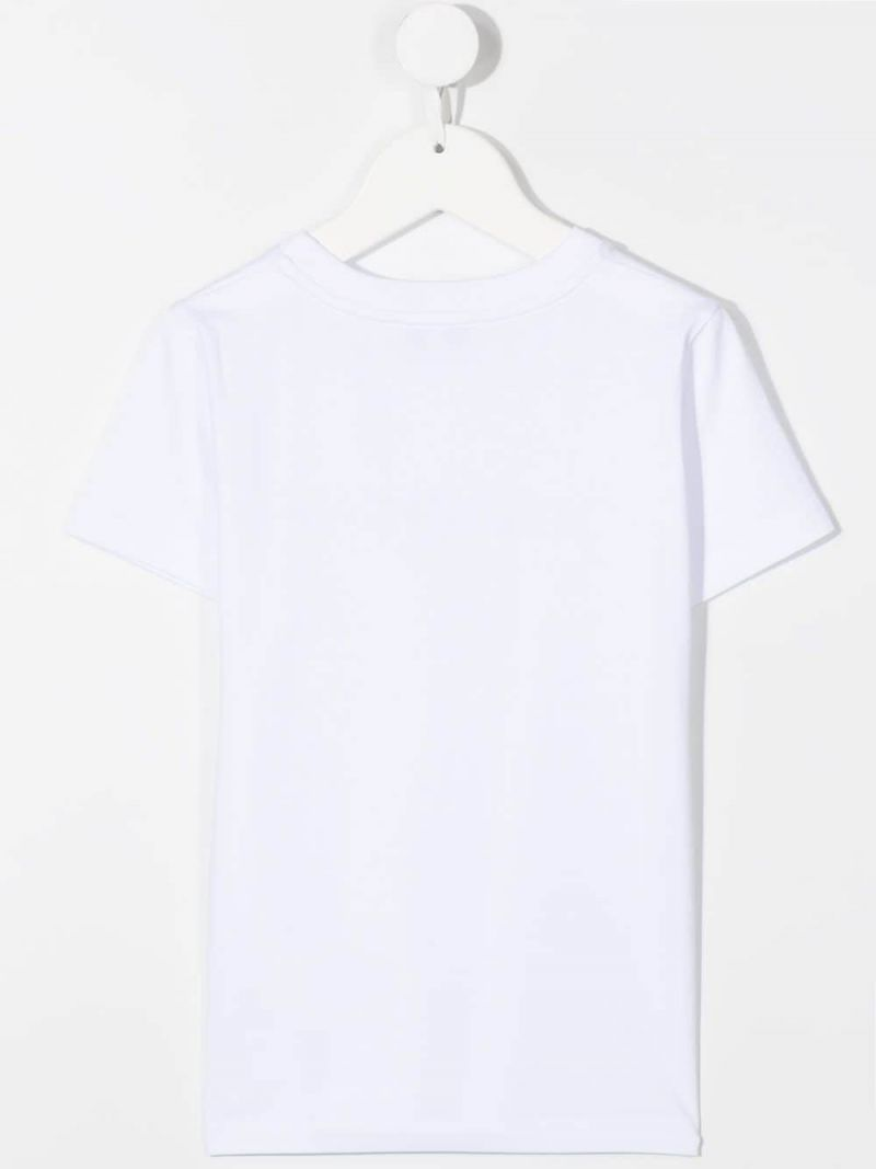 GIVENCHY KIDS: Givecnhy cotton t-shirt Color White_2