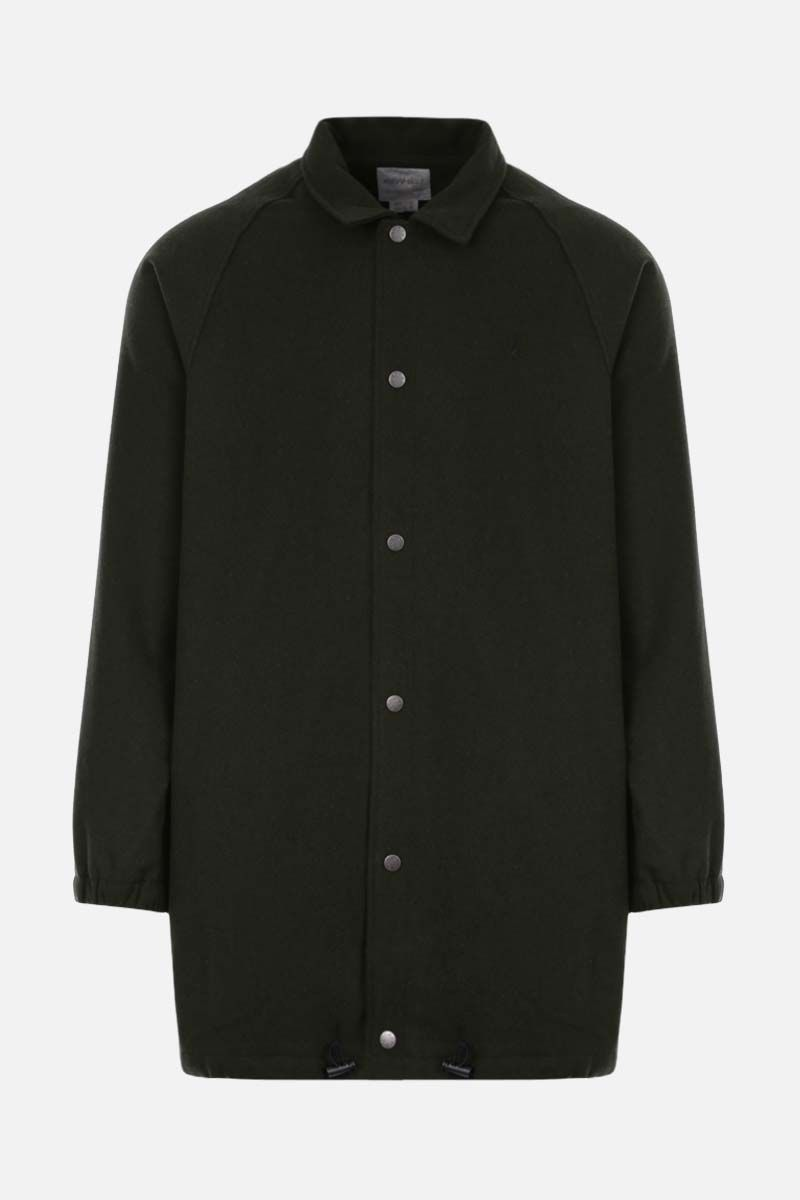 GRAMICCI: wool blend coaches jacket Color Green_1