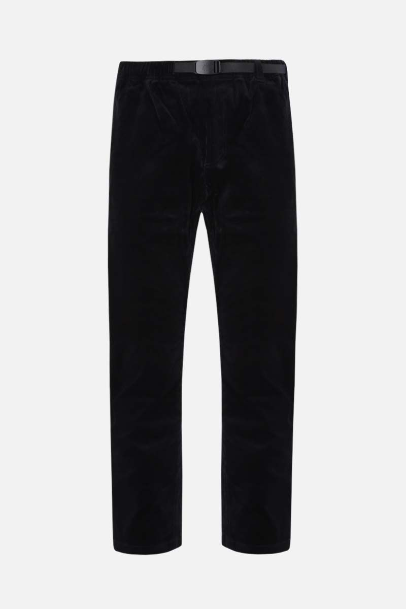 GRAMICCI: slim-fit corduroy pants Color Black_1