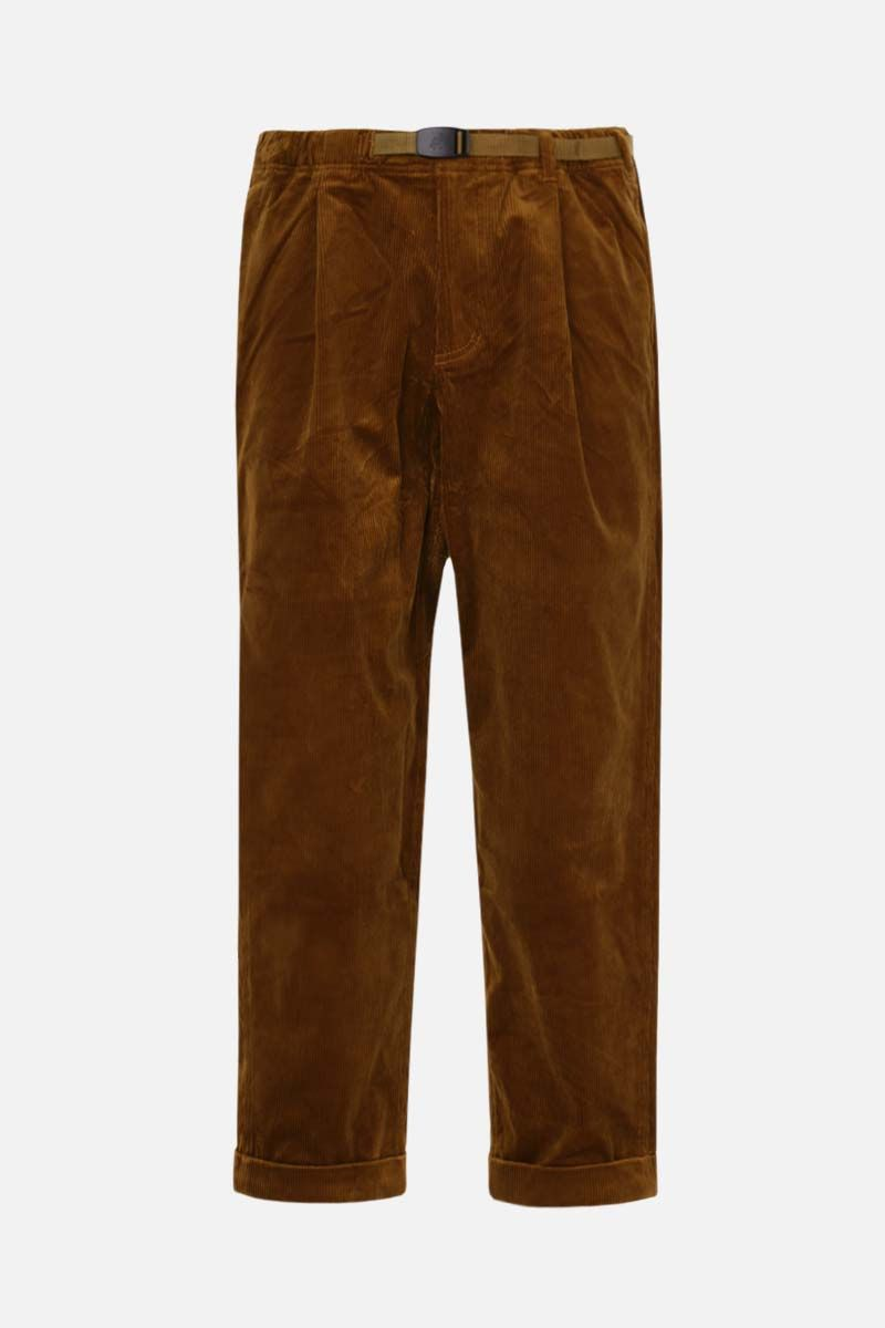 GRAMICCI: tapered-fit corduroy pants Color Brown_1