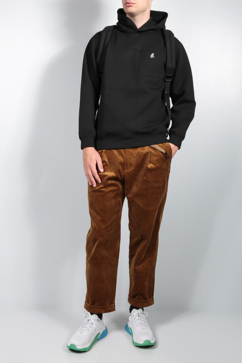 GRAMICCI: tapered-fit corduroy pants Color Brown_3