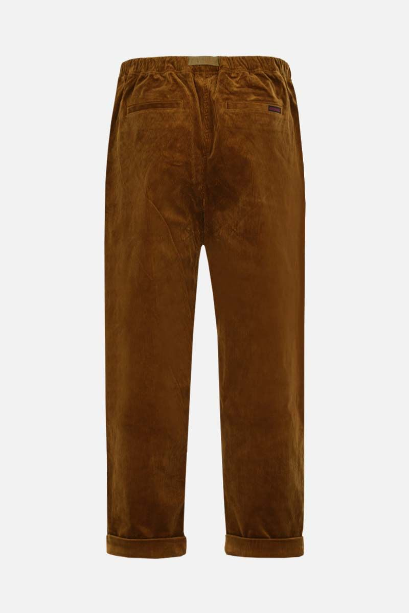 GRAMICCI: tapered-fit corduroy pants Color Brown_2
