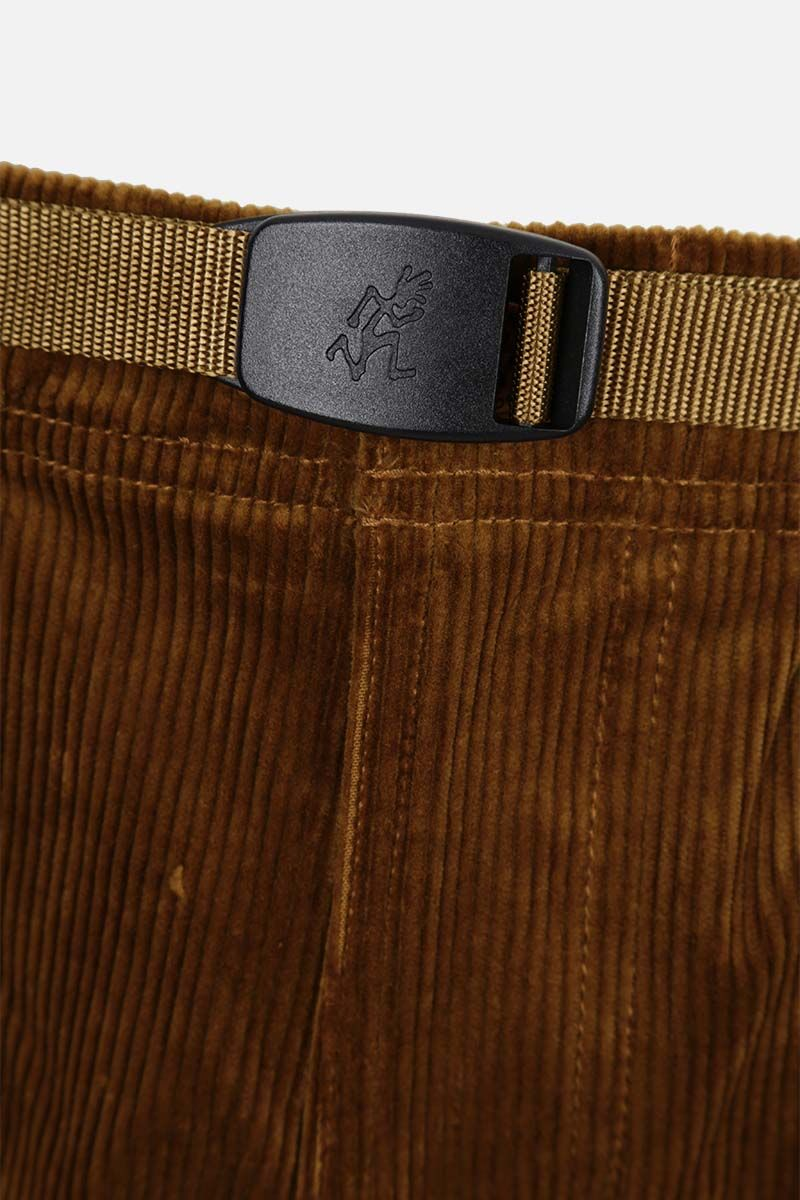 GRAMICCI: tapered-fit corduroy pants Color Brown_4