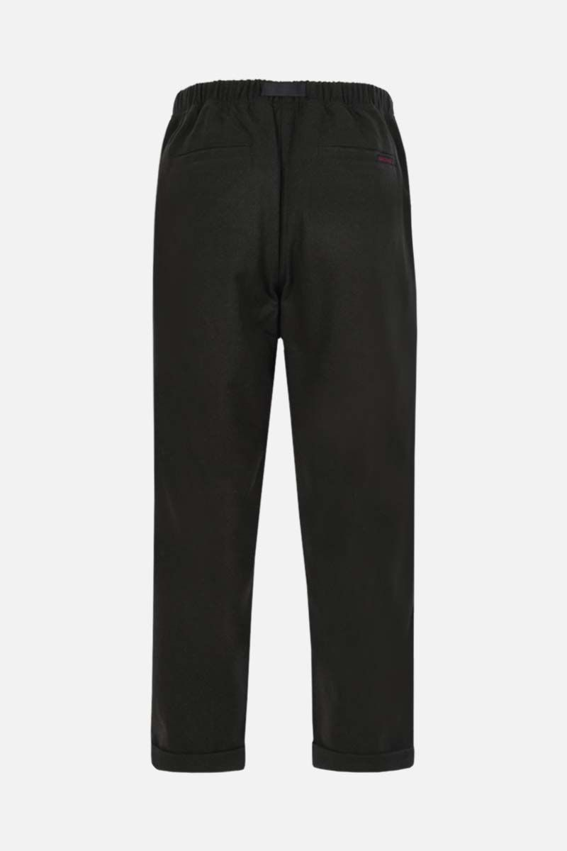 GRAMICCI: tapered-fit wool blend pants Color Green_2