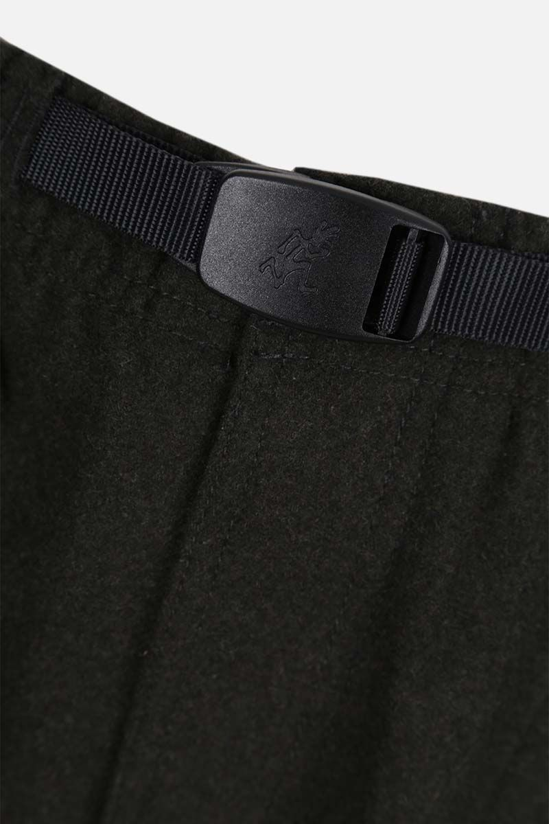 GRAMICCI: tapered-fit wool blend pants Color Green_4