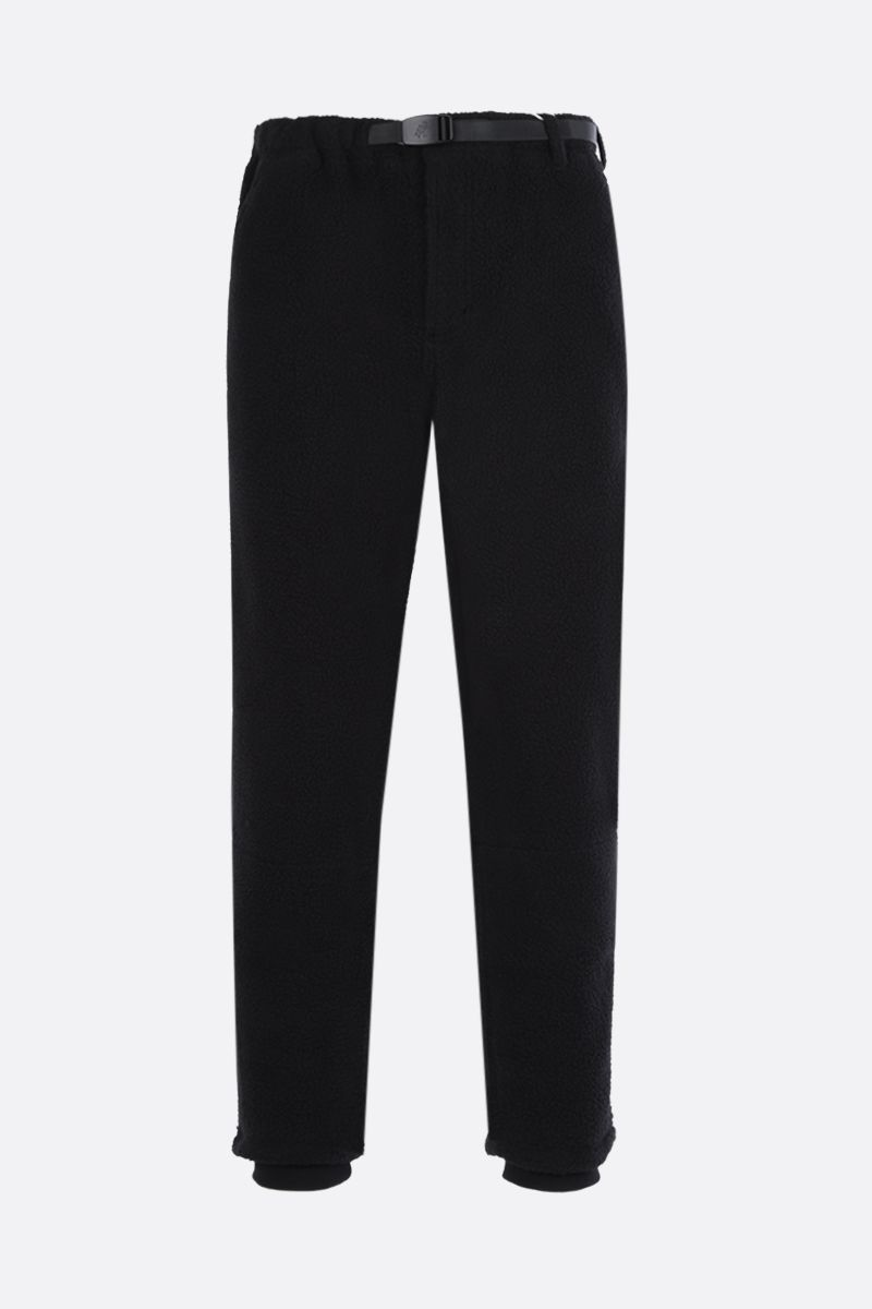 GRAMICCI: slim-fit fleece pants Color Black_1